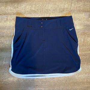 Nike Golf Tour Performance Navy Blue Skirt Size 8